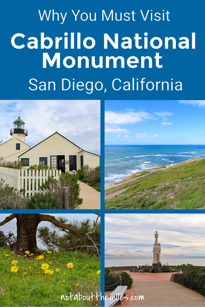 From tidepools to lighthouses and hiking to photography, you'll find lots of things to do at Cabrillo National Monument in San Diego. Visit for spectacular ocean views, golden California sunsets, and whale watching in season! #visitcalifornia #findyourpark