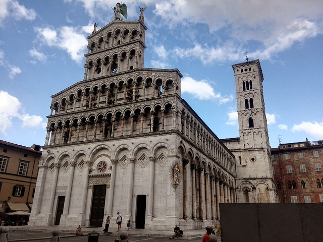 Church of St. Michael Lucca Italy