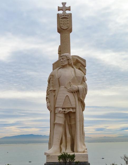 Statue of Juan Cabrillo, Cabrillo National Monument, San Diego, California