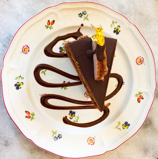 Chocolate Cake Michele Coulon Dessertier in La Jolla, California