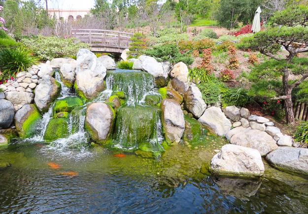 Japanese Garden Balboa Park San Diego California