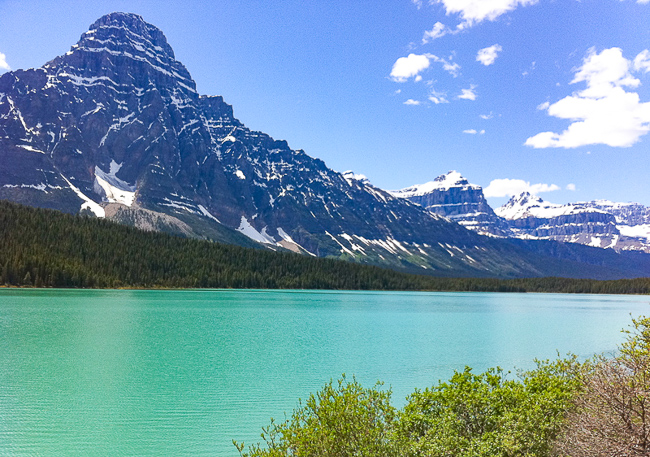 Lower Waterfowl Lake Banff Canada