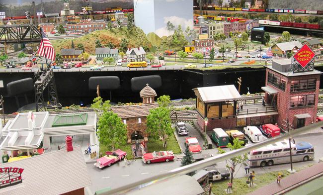 Model Railroad Exhibit, San Diego Railroad Museum, Balboa Park, San Diego, California