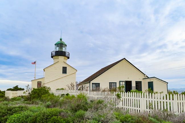 Old Point Loma Lighthouse, Cabrillo National Monument, San Diego, California