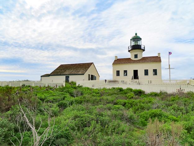 Old Point Loma Lighthouse, San Diego, California