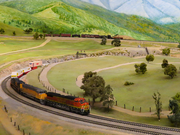 Railroad Museum Balboa Park San Diego California