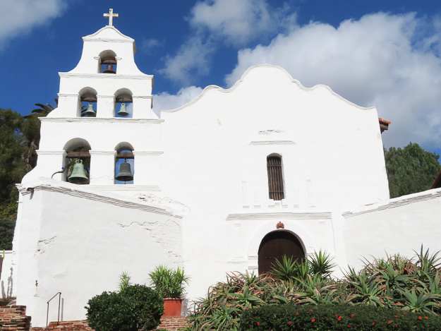 San Diego Mission in California