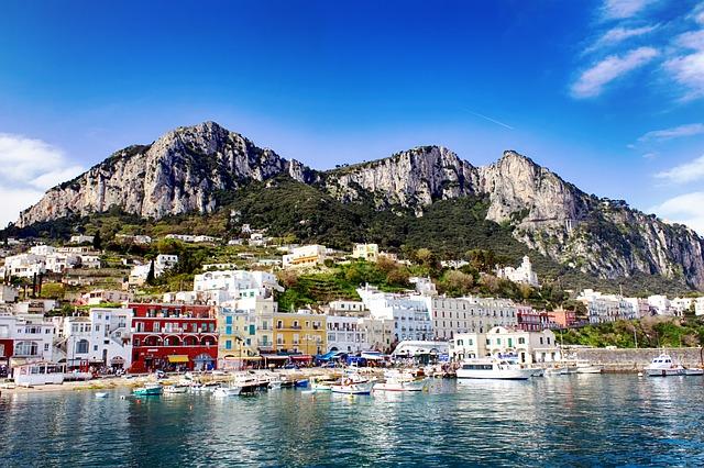 Capri Harbor Italy