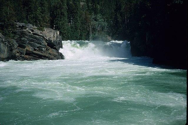 Overlander Falls Canadian Rockies