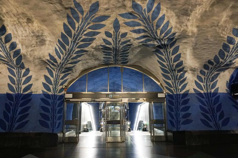 Blue Platform T-Centralen Stockholm
