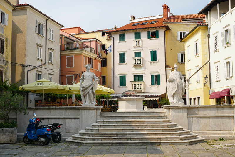 First of May Square Piran Slovenia