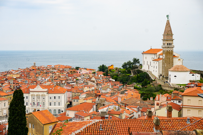 Orange Roofs of Piran
