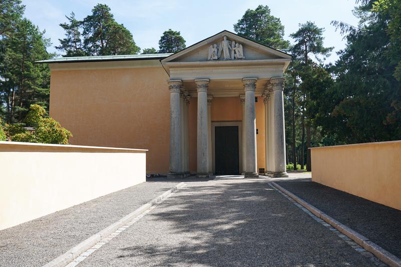 Resurrection Chapel Skogskyrkogarden Stockholm