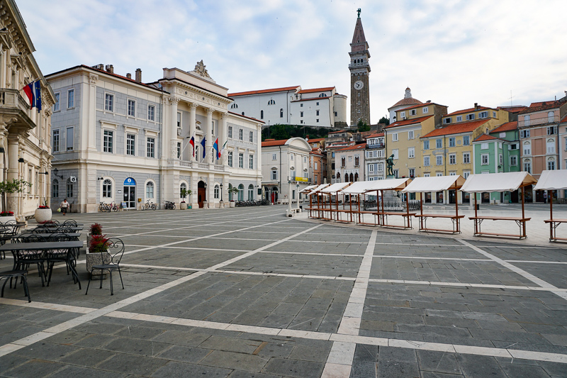 Tartinijev Trg Piran Slovenia