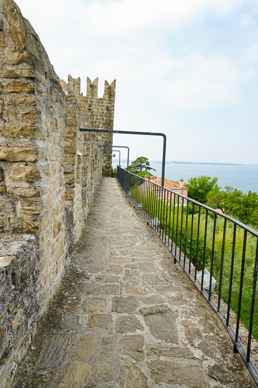 Walls of Piran Slovenia