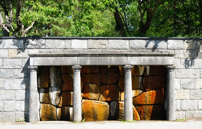 Water Feature Skogskyrkogarden Stockholm