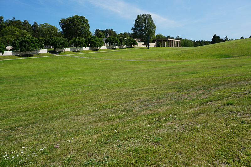 Woodland Cemetery Stockholm Swed