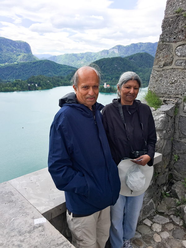 At Bled Castle Slovenia