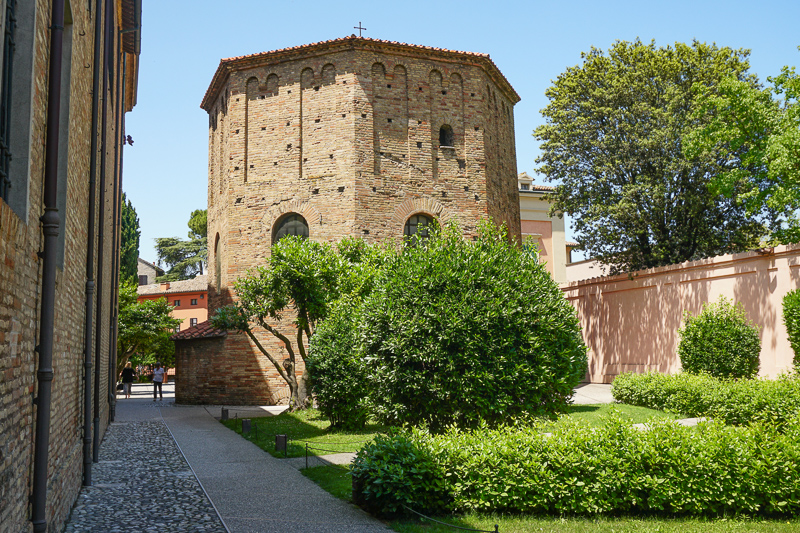 Baptistery of Neon Ravenna Italy