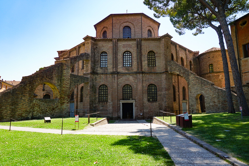 Basilica di San Vitale Ravenna Italy