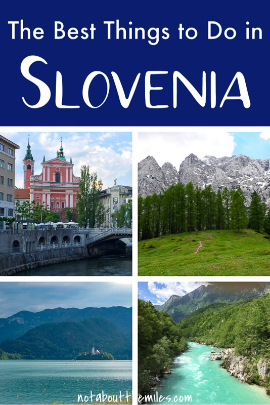 Discover the best of Slovenia with my list of 25 best things to do! From the Julian Alps to the Soca River Valley, and from Lake Bled to Ljubljana, you'll cover the best destinations in Slovenia!
