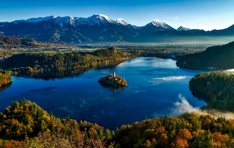 Bled Panorama Slovenia