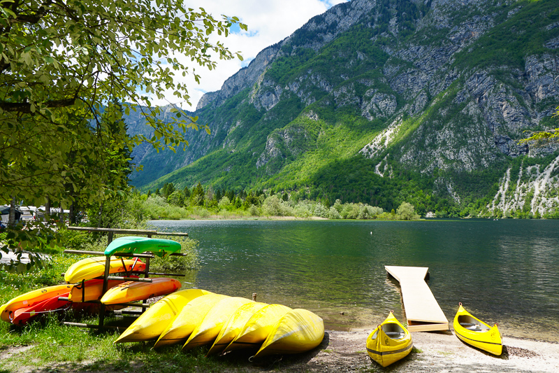 Boats for rent Lake Bohinj Slovenia