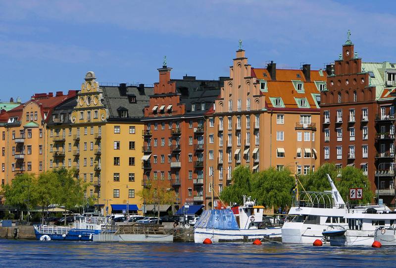 Buildings in Stockholm Sweden