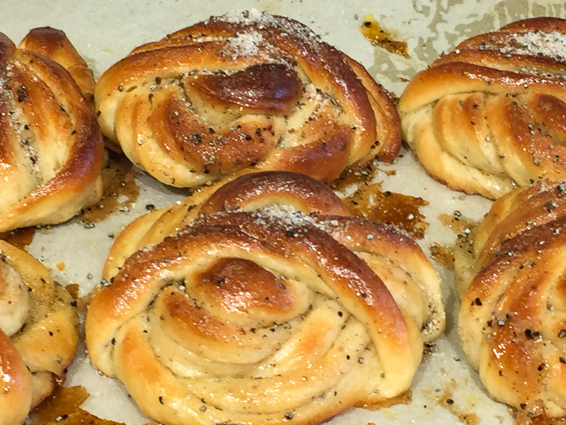 Cardamom Rolls at a Stockholm Bakery
