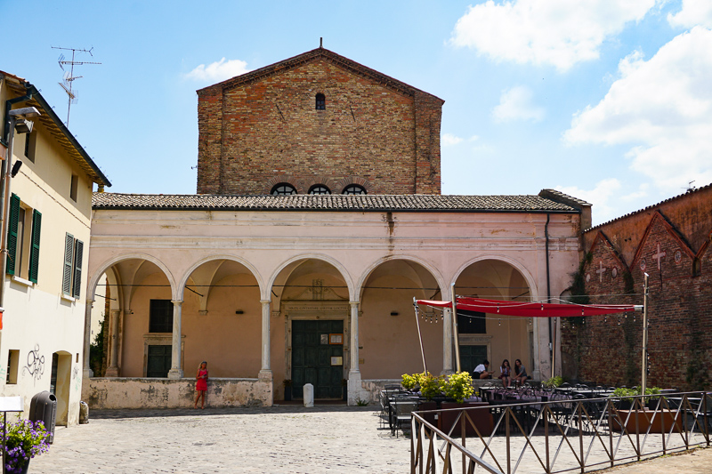 Church of Santo Spirito Ravenna Italy