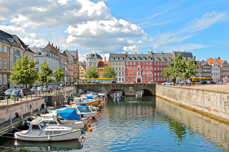 Copenhagen, Denmark, is a great place to begin your Scandinavia trip
