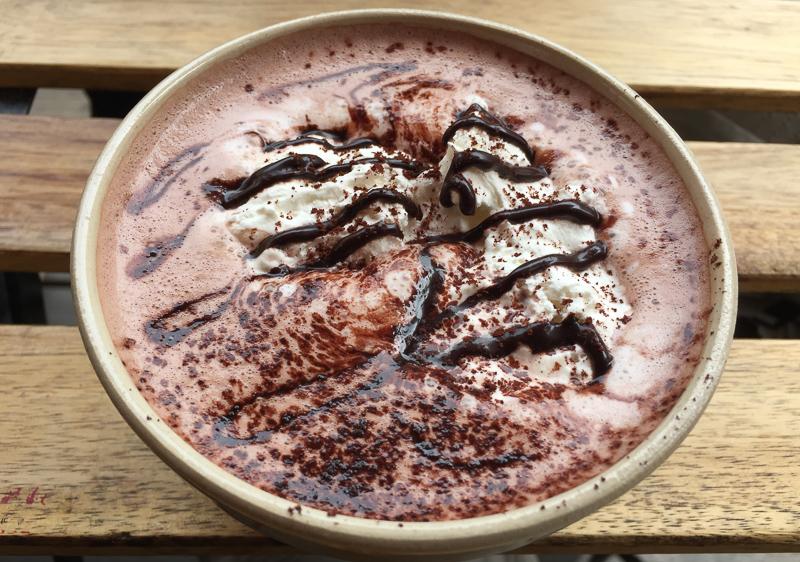 Hot Chocolate at Stortorget Stockholm