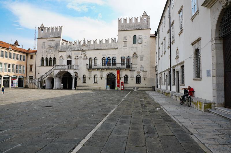 Main Square Koper Slovenia