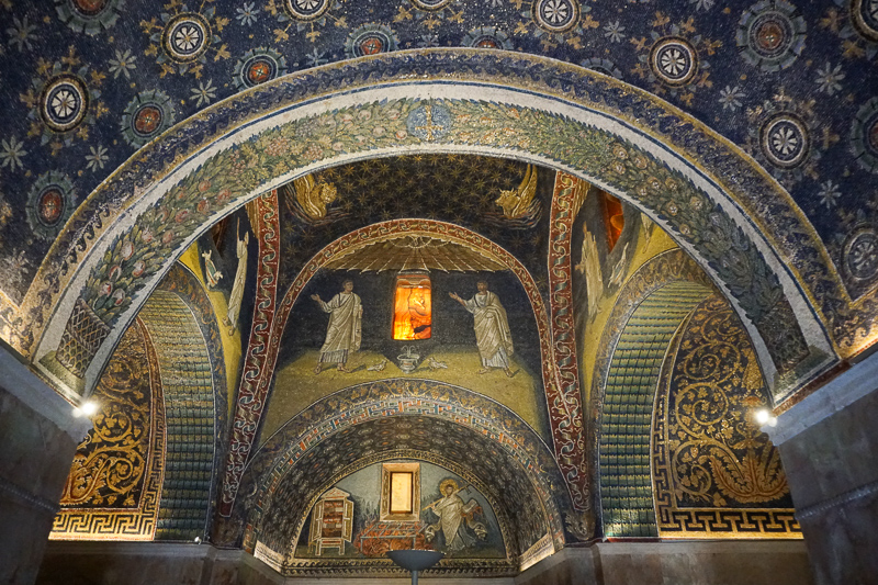Mausoleum of Galla Placidia Ravenna Italy