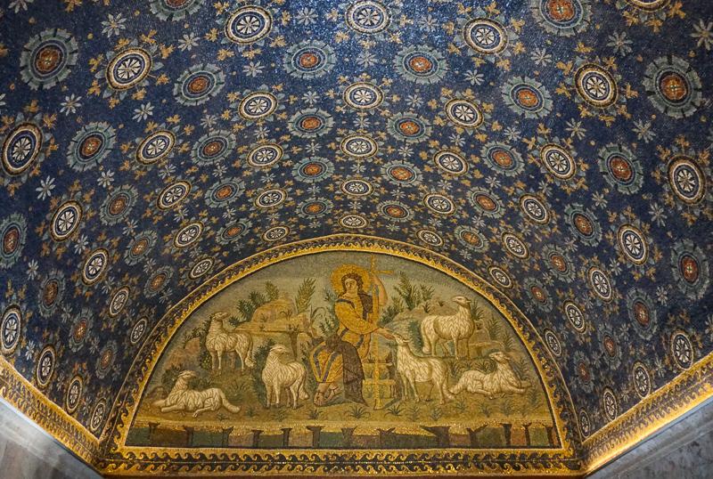 Mosaics in Ravenna Italy