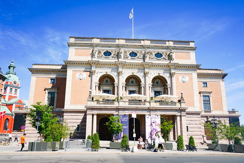 Opera House Stockholm Sweden