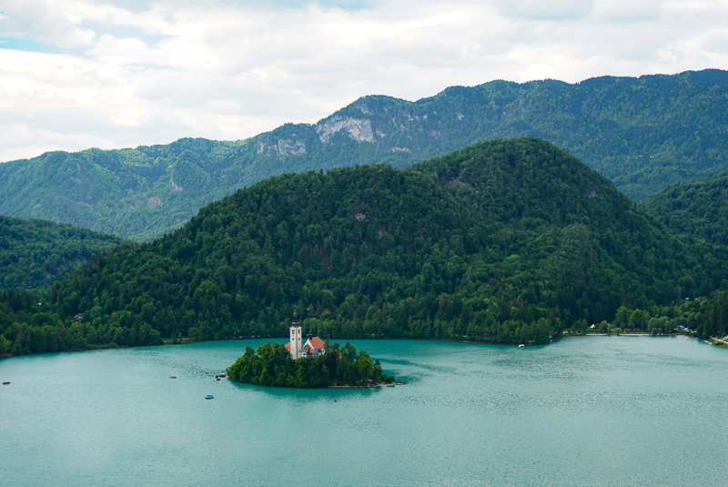Picture-perfect Lake Bled in Slovenia