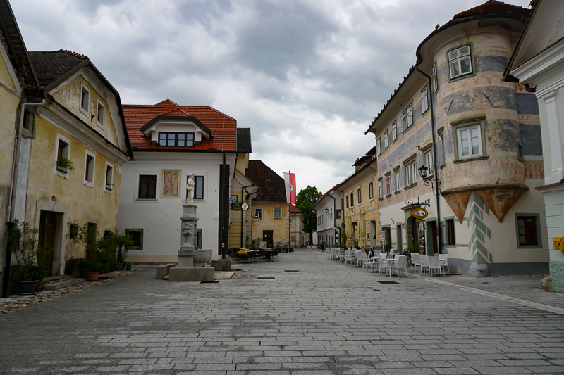 Radovljica is a charming village to visit in Slovenia