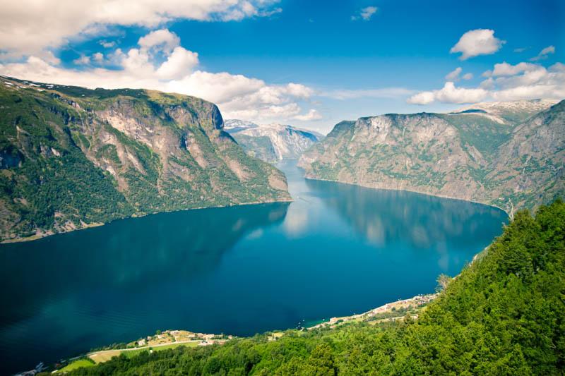 Scandinavia features stunning scenery everywhere!