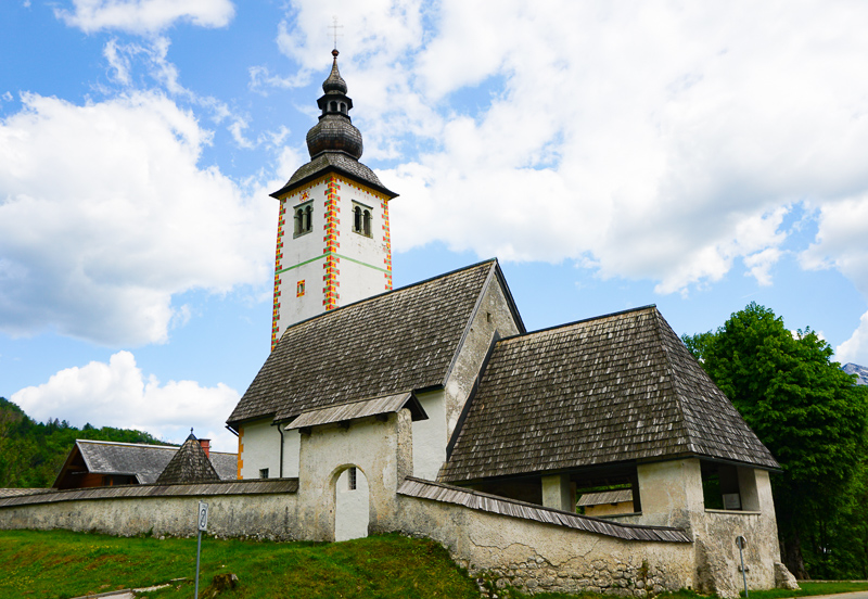 St. John the Baptist Church Ribcev Laz Slovenia