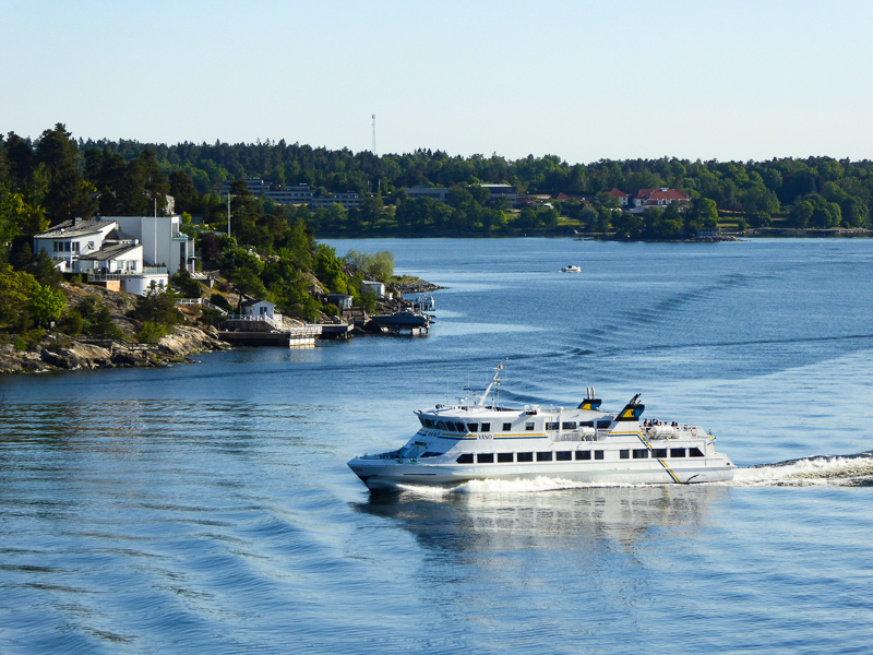 Cruising the Stockholm Archipelago