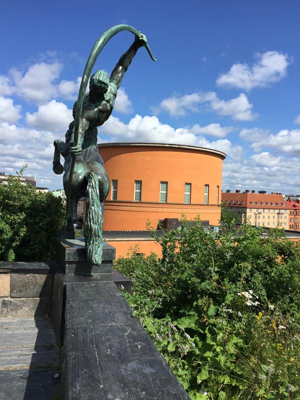 Stockholm Public Library Building, Stockholm, Sweden