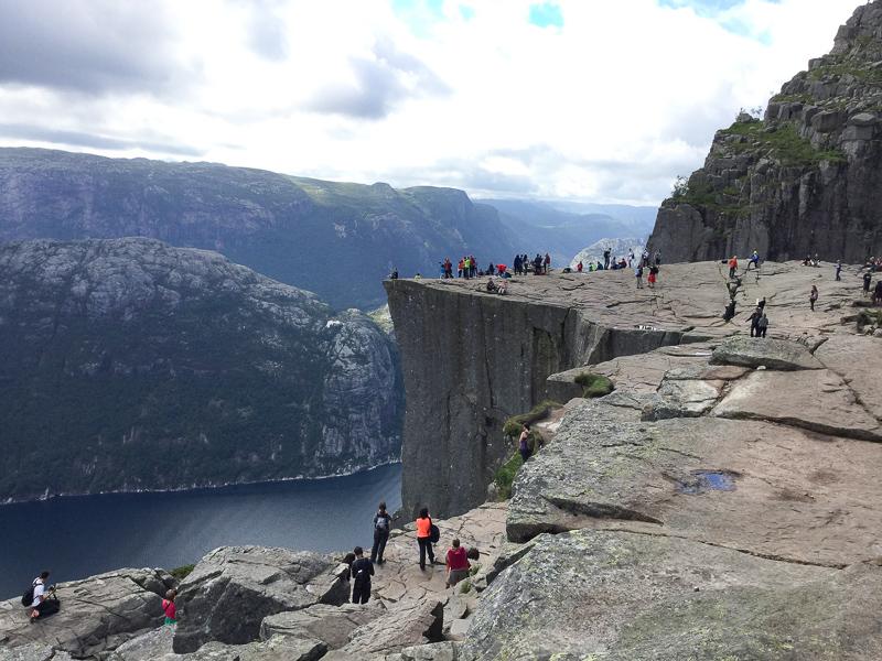 Pulpit Rock near Stavanger, Norway
