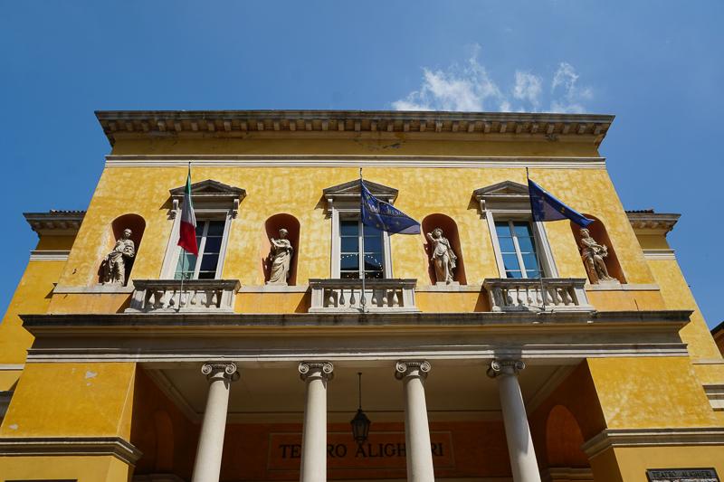 Teatro Dante Alighieri Ravenna Italy