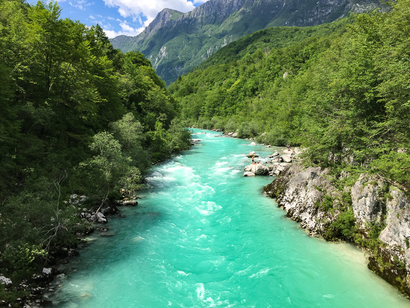 The Soca River Slovenia