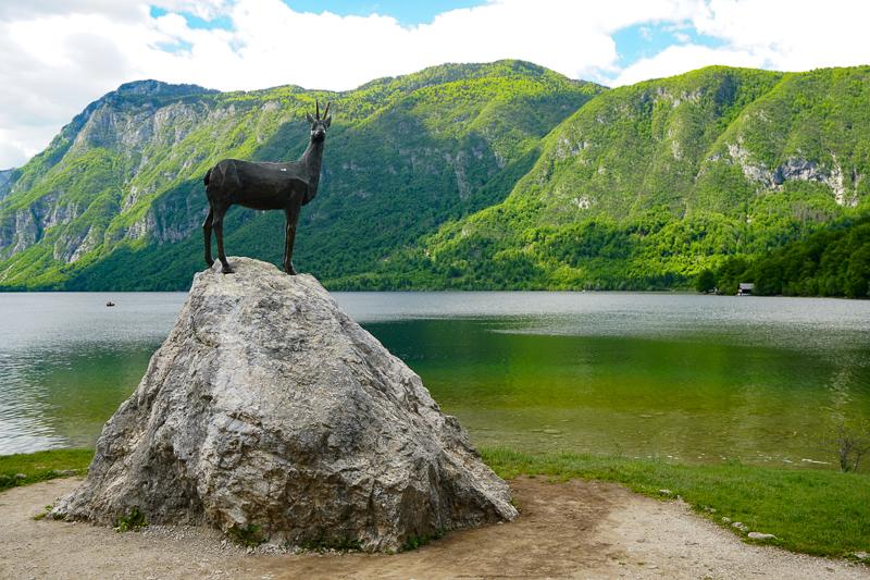 Zlatorog Lake Bohinj Slovenia