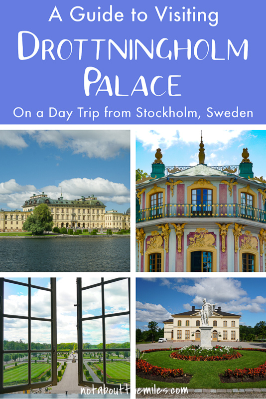 Click for the complete guide to visiting Drottningholm Palace on a day trip from Stockholm, Sweden!