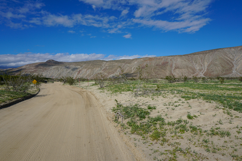 Anza-Borrego State park in southern California
