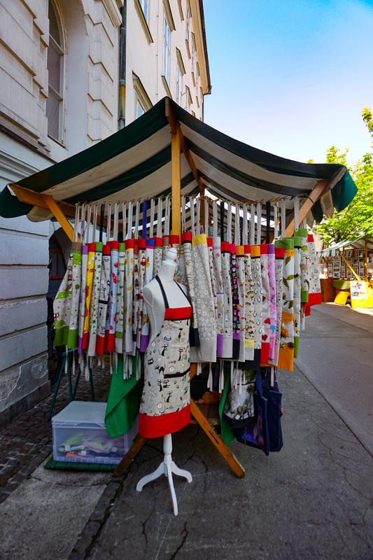 Apron Stall Ljubljana Market