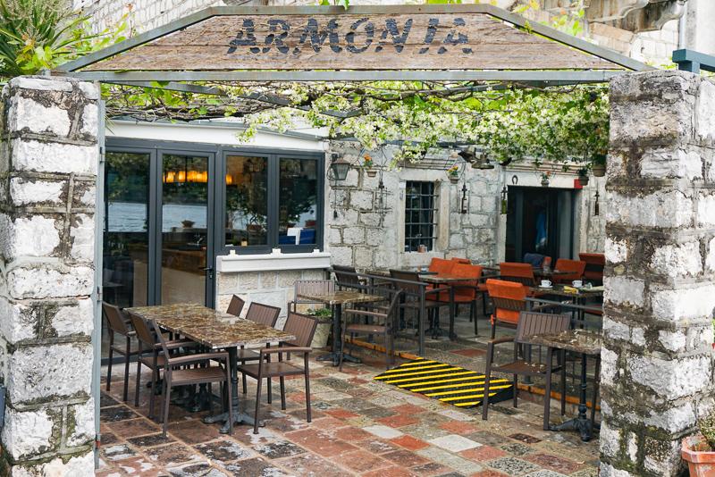 Armonia Restaurant Perast Montenegro